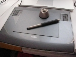 A Wacom Tablet.